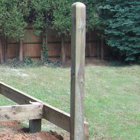Decking Support Post