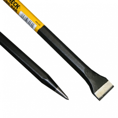 Roughneck Digging Bar with chisel blade and pointed tip