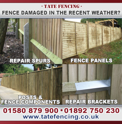 Fence Damage Materials