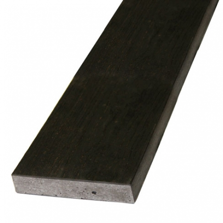 Composite decking charred 32x176mm