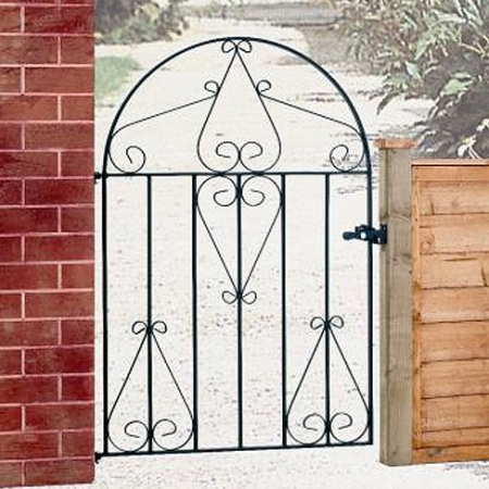 Classic Low Bow Metal Gate