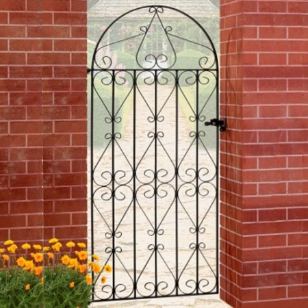 Regent Bow Top Metal Gate