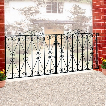 Regent Double Metal Gates