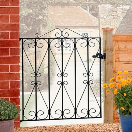 Regent Single Metal Gate
