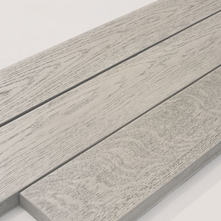 Enhanced Grain - Lime Oak boards close up