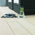 Enhanced Grain in Limed Oak, installed for contemporary seating area