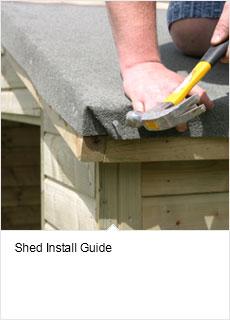 Garden shed install guide