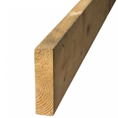 "regularised timber 47 x 175mm or 7"" x 2"" timber"