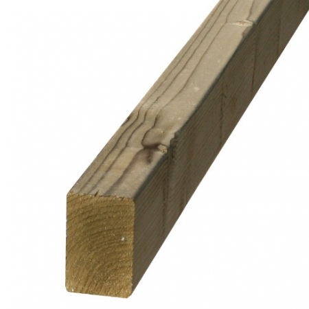 "regularised stock timber 47 x 75mm or 3"" x 2"""