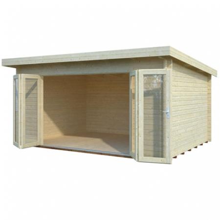 Lea (14.2m²) log cabin