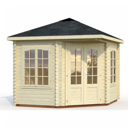 Melanie (6.6m²) log cabin