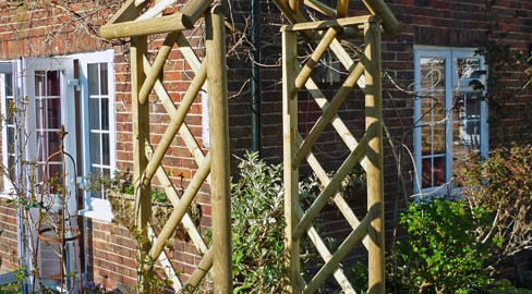 Tate Fencing garden arches