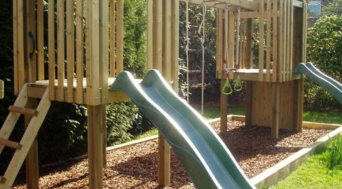 Tate Fencing DIY Play Frames & Play Equipment