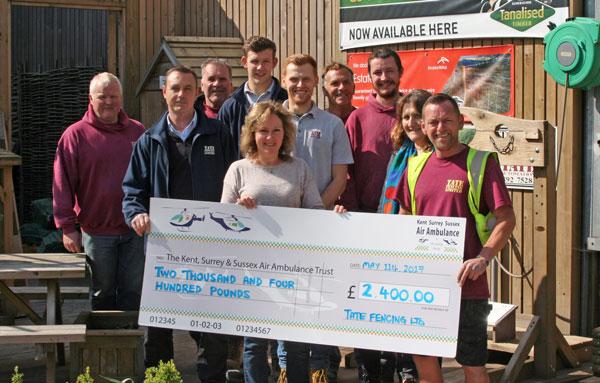 Air ambulance money raised