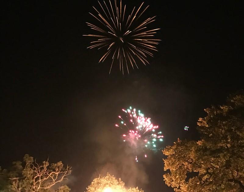 Benenden bonfire 2017