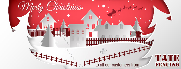 Merry Christmas from Tate Fencing