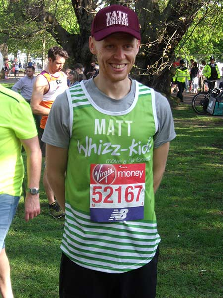 Matt Harden London Marathon