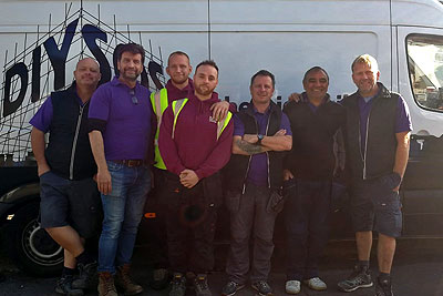 Tate Fencing with DIY SOS