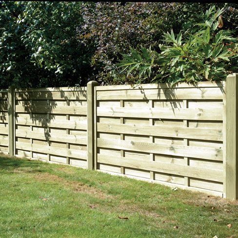 Milano continental garden panel a stylish alternative to the traditional panels or trellis.