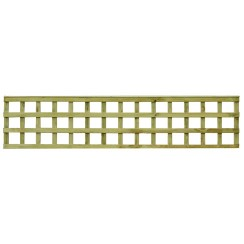 Tate Square Hole Bay Top Trellis - 2.4m