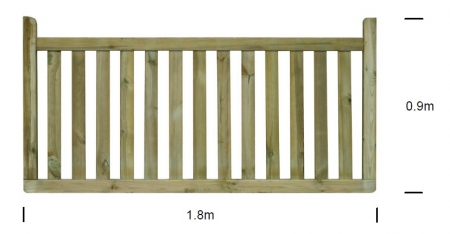 Winsor cottage panel specification