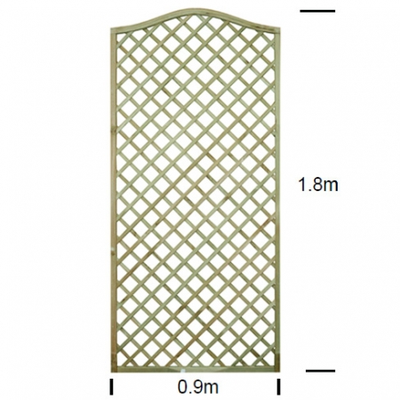 English Rose Omega Shaped Trellis specifications