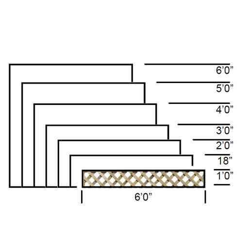 TATE Heavy Diamond Trellis panel specifications