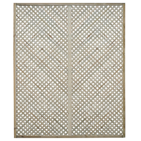 Clementine Diamond Trellis Panel