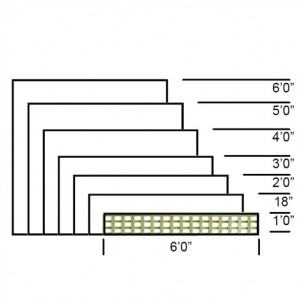 TATE Heavy Square Trellis panels specifications