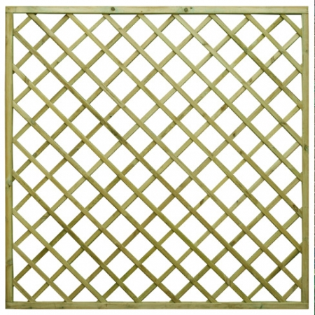 Regal Flat top diamond trellis panel