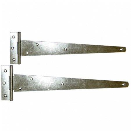 Pair of Galvanised 'T' Hinges