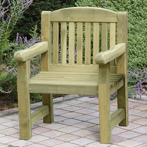 Carver Garden Chair > Garden Furniture | TATE Fencing