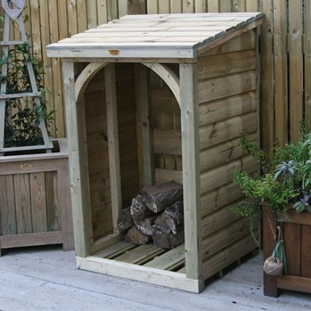TATE Mini Log Store installed