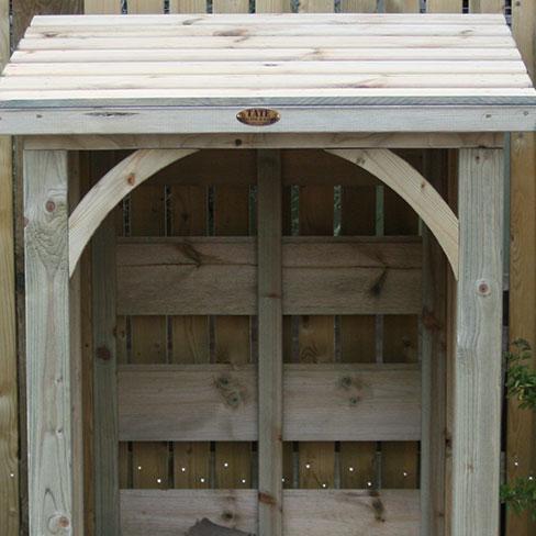 TATE Mini Log Store - front detail