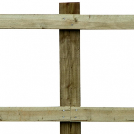Softwood Nail-on Post and Rail