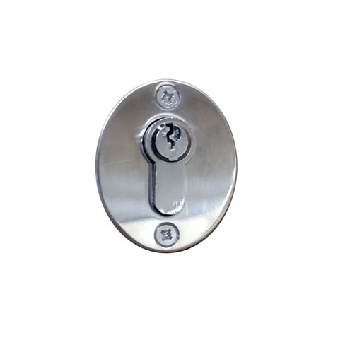 Front of Double Rim Cylinder Lock