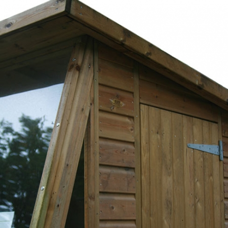 TATE Potting Shed front detail