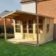 Tate Fencing Chalet Summerhouse