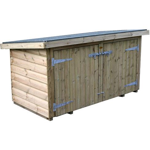 Storage Chest Tool S Tate Fencing, Wooden Garden Storage Box Uk