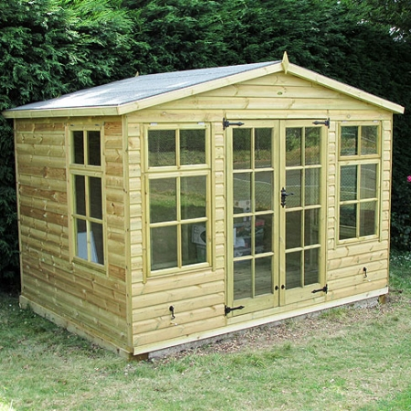 TATE Chalet Summerhouse, customer installation