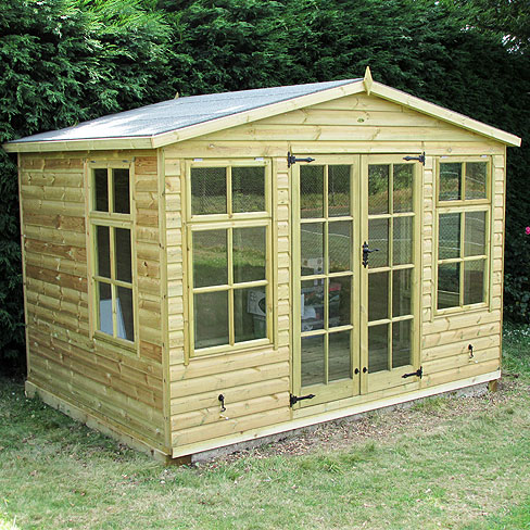 TATE Chalet Summerhouse, customer installation