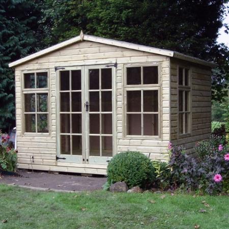 TATE Chalet Summerhouse (without veranda detail)