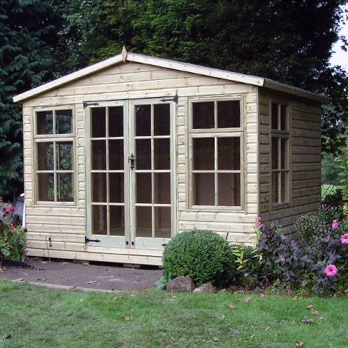 TATE Chalet Summerhouse (without veranda detail)