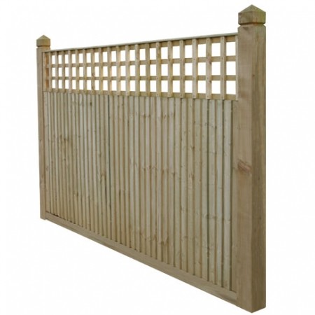 Closeboard Kit form with 450mm trellis bay