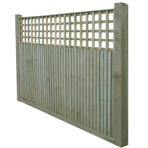 Closeboard Kit form with 600mm trellis front