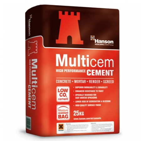 Cement - Medium Bag (25kg)