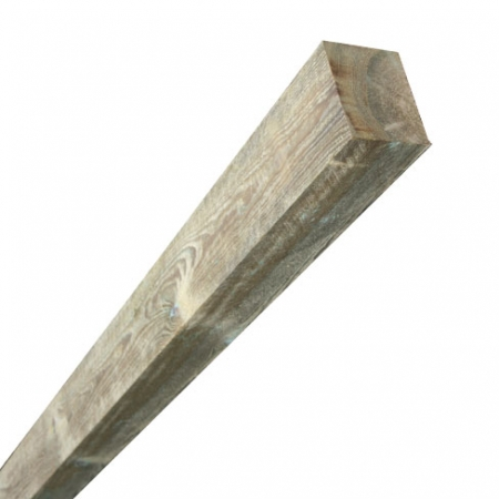 Sawn timber fence post 75x100mm