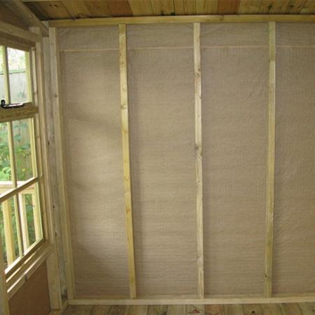 TATE Summerhouse - paper lining inside