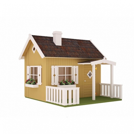 The Otto Playhouse, with complete paint finish and details
