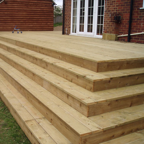 Grooved and reeded decking boards decking boards tate for Decking boards 6m long